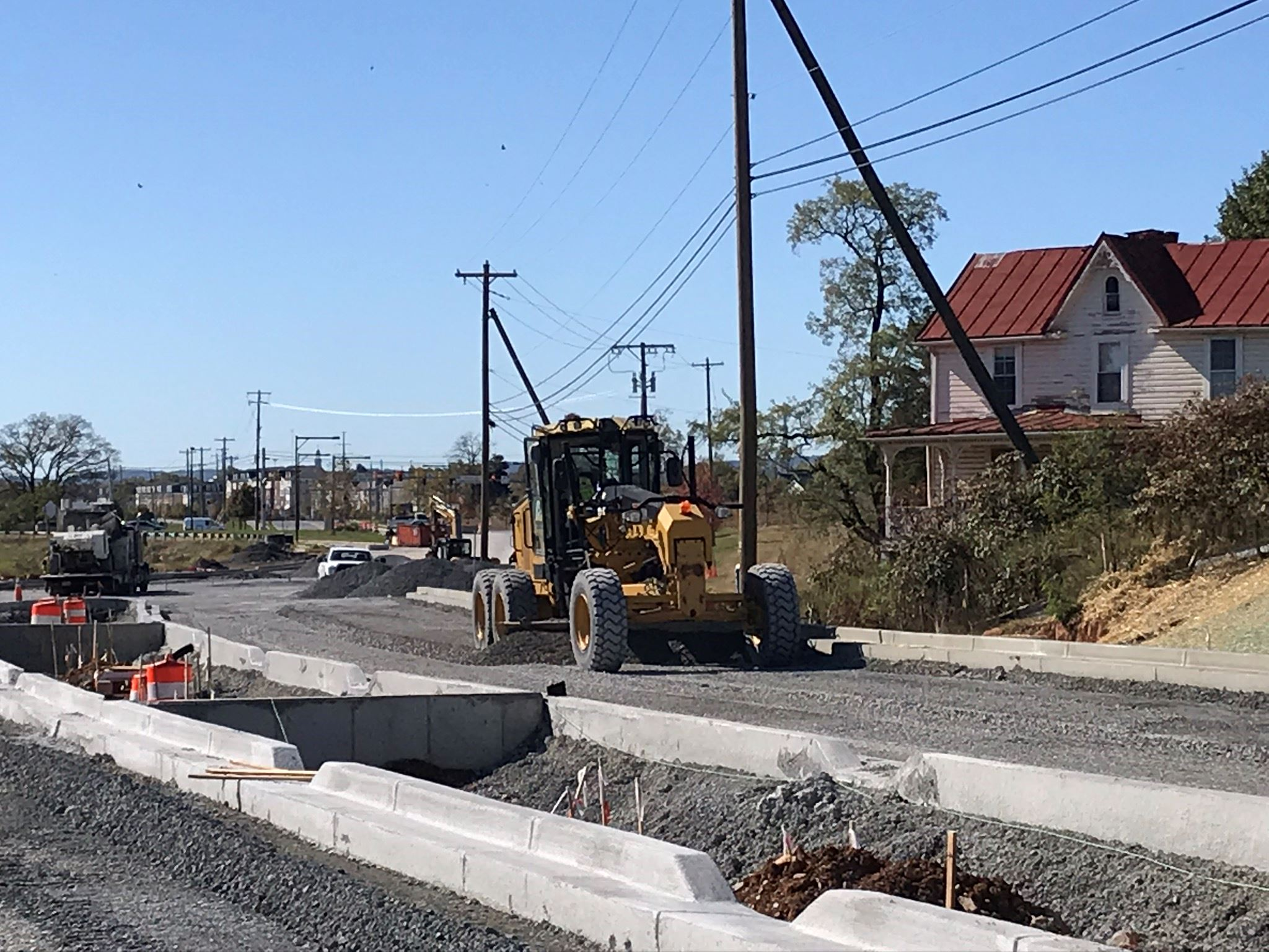 Stone Base Installation near Schifferstadt Blvd