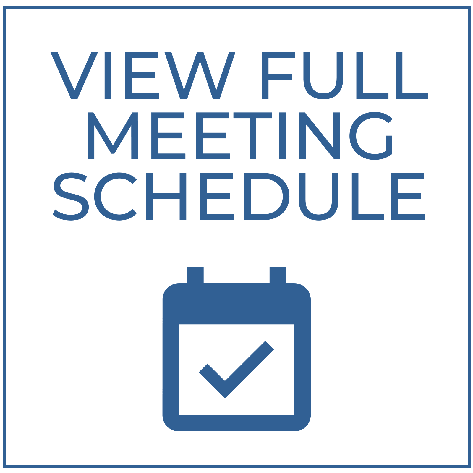 View full meeting schedule